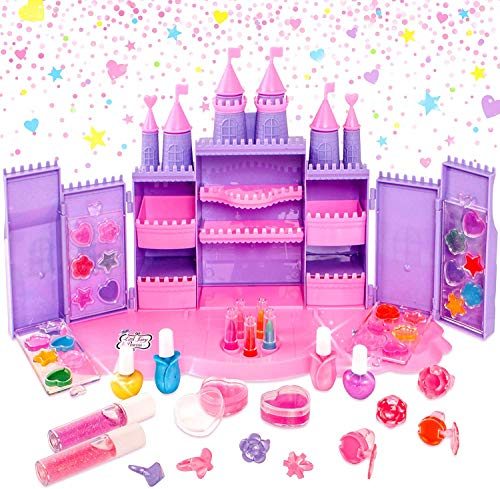 Little Fairy Princess - Château de cosmétiques - Jouets de Maquillage pour Filles