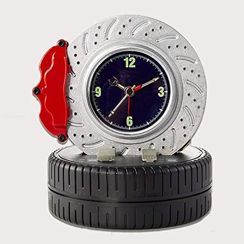 TONGZHENGTAI Dekoration Clock Schalten Bremsscheibe AlarmTire Kreatives Auto-Element Dekoration Tabelle
