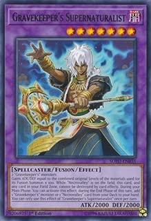 Yu-Gi-Oh! - Gravekeeper's Supernaturalist - SOFU-EN035 - Soul Fusion - 1st Edition - Rare