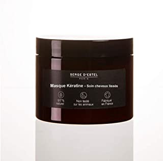 SERGE D'ESTEL PARIS Keratin Smooth Hair Mask 500 G Extends And Maintains Brazilian Japanese Tannin Smoothing 97% Natural Care