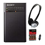 Best Am Radios - Sony ICFP26 Portable AM/FM Radio (Black) w/Re-Charger, 4 Review