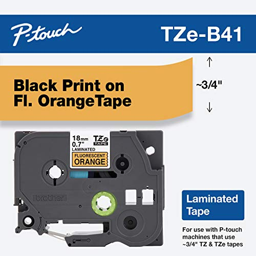 Brother Genuine P-touch TZE-B41 Tape, 3/4