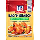Savory seasoning mix for moist and flavorful chicken and vegetables Mess-free oven cooking bag included Bag 'n Season Chicken Seasoning Mix has no artificial flavors or added MSG* Quick and easy prep and cleanup's a snap Made with McCormick herbs & s...