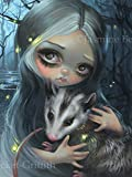 """""""My Possum' SIGNED Glossy Photo Art Prints by Jasmine Becket-Griffith"""