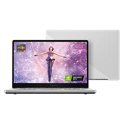 ASUS ROG Zephyrus G14 GA401II 14' Full HD Gaming Laptop (AMD Ryzen 5-4600HS, Nvidia GeForce GTX 1650Ti, 8GB RAM, 512 GB SSD, Windows 10)