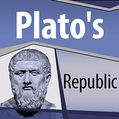 Plato's Republic audiobook cover art