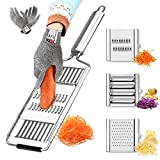 Multi-Purpose Vegetable Slicer/Stainless Potato Grater/Foxogene Vegetable Slicer/for Onions,Potato,Cucumbers and Other Vegetables Microplane Grater for Kitchen