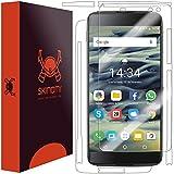 Skinomi TechSkin - Schutzfolie geeignet für BlackBerry DTEK60 - Vorder- & Rückseite