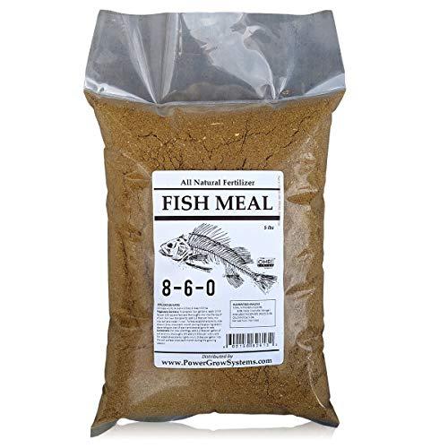 Fish Meal - Organic Fish Fertilizer 8-6-0 (5 lbs)