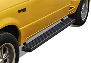 APS iBoard (Black Powder Coated 5 inches) Running Boards Nerf Bars Side Steps Step Rails Compatible with 1999-2011 Ford Ranger Mazda B-Series Super Cab Pickup 4-Door
