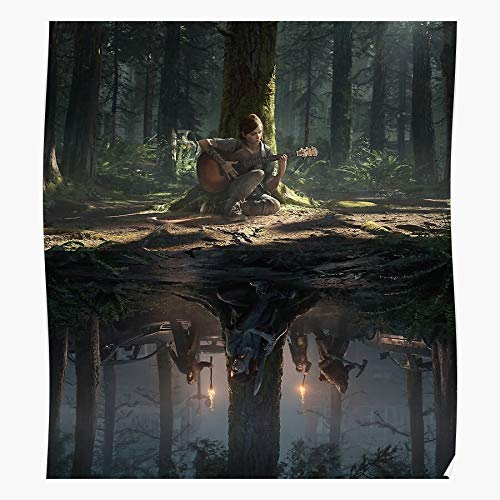 Anbugang US 2 of The Upside Last Stranger Tlou Down Things Netflix Tlou2 Regalo per la Decorazione Domestica Poster da Parete Stampa Artistica 11.7 x 16.5 inch