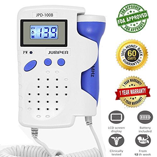 Oir Los Latidos del Bebé Máquina con Pantalla LCD JPD-100B