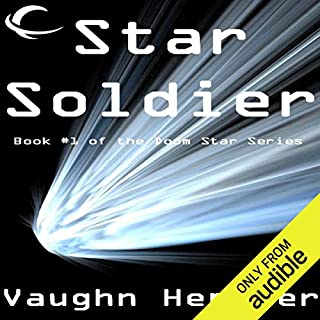 Star Soldier audiobook cover art