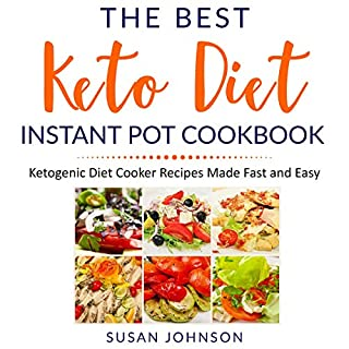 The Best Keto Diet Instant Pot Cookbook cover art