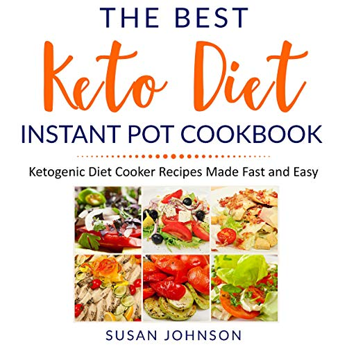 The Best Keto Diet Instant Pot Cookbook cover art