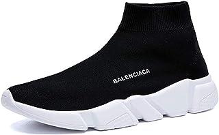 ADFD, Calcetín transpirable para correr para hombres y mujeres, zapatos deportivos informales, suela acolchada ligera, adecuada para todo tipo de deportes y uso diario