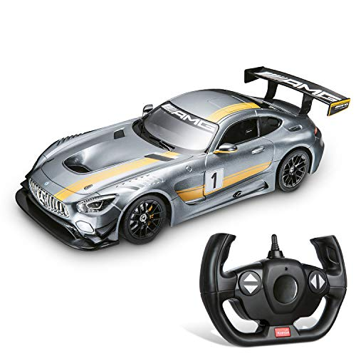 Mondo Motors Mercedes Mondo-63368-Mercedes-AMG Gt3-Die Cast-Radiocommandé-Echelle 1/14, 63368