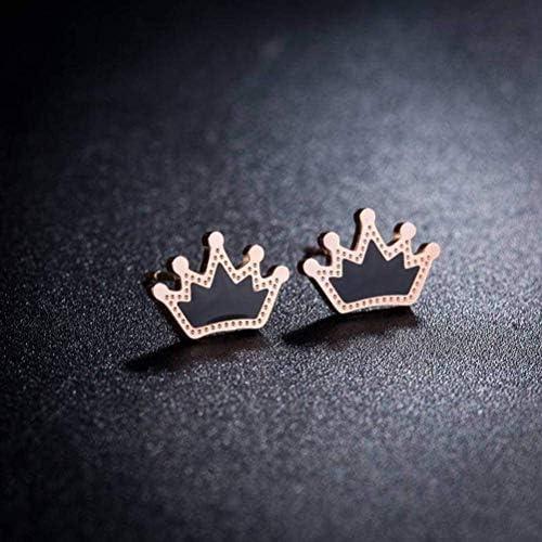 WOZUIMEI Earring Dangler Eardrop Stud Earring Simple Versatile Titanium Steel Earrings Temperament product image