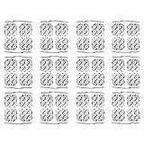 Set de 48 electrodos 4x4 cm axion | Parches universales para TENS y EMS |...