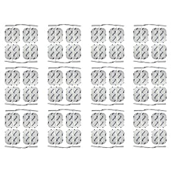 48 electrode pads 4x4 cm - universal electrodes for TENS & EMS - axion