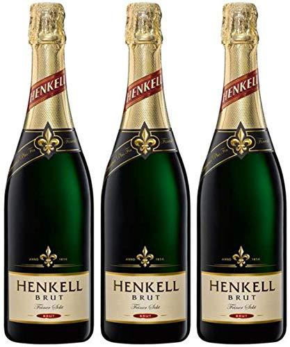 Henkell Sekt Brut 3er Pack (3 x 0.75 l)
