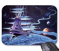 Ship Water Street Planet Spaceマウスパッド滑り止め