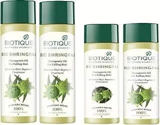 Biotique Bhringraj Hair Oil 200 Ml x2 Pcs+120 Ml x2 Pcs Hair Oil (640 ml)