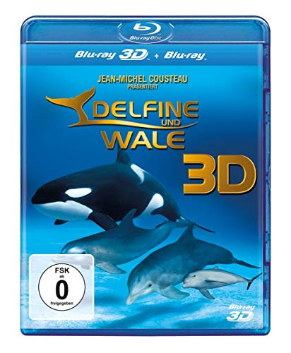 IMAX: Delfine und Wale (2D + 3D Version) [Blu-ray]