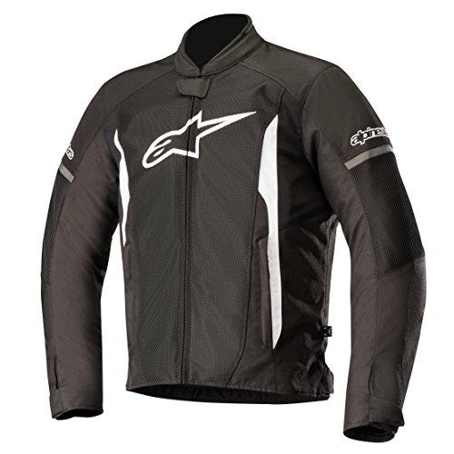 Preisvergleich Produktbild Alpinestars Motorradjacken T-faster Air Jacket Black White,  Schwarz / Weiss,  L