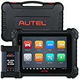Autel MaxiSys MS909, 2021 Newest Intelligent Diagnostic Scan Tool, Advanced J2534 for ECU Programming & ECU Coding, Active Test, Repair Assist, OE-TSB, DTC Analysis, Scan VIN/Licence, Topology Module