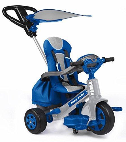 FEBER - Evolutive 3-in-1 Baby Twist driewieler voor kinderen van 10 maanden tot 4 jaar, blauw (Famosa 800009780)