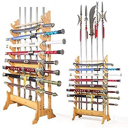 SXFYHXY Soporte Pared para Espadas Samurai, Katana Adecuado Espadas Estándar Katanas Fácil Instalar Colocación Estable