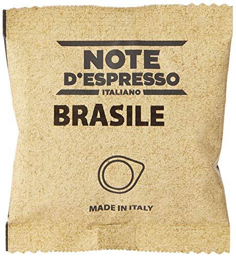 Note D'Espresso Bolsitas de Café de Brasil - 150 x 7 g, Total: 1050 g