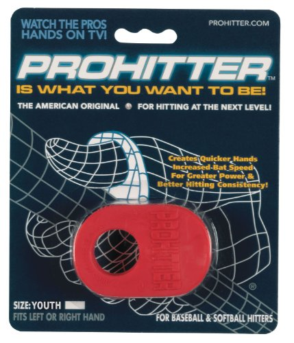 Prohitter Batters Training Aid (Youth Size, Red)