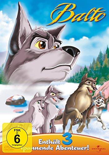 Balto - Enthält 3 spannende Abenteuer [3 DVDs]