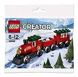 LEGO 30543 Creator Weihnachtszug, Mehrfarbig