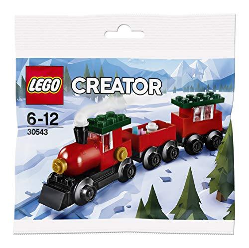 LEGO 30543 Creator - Tren de Navidad, Multicolor