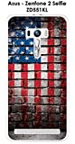 ONOZO Case for ASUS ZENFONE zd551kl Selfie 2 USA Flag