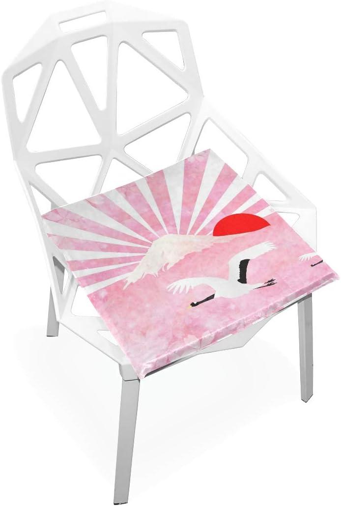 Cheap SALE Start linomo Rooster Crane Fuji Japanese Memory Foam Pad San Diego Mall Seat Chair Cu