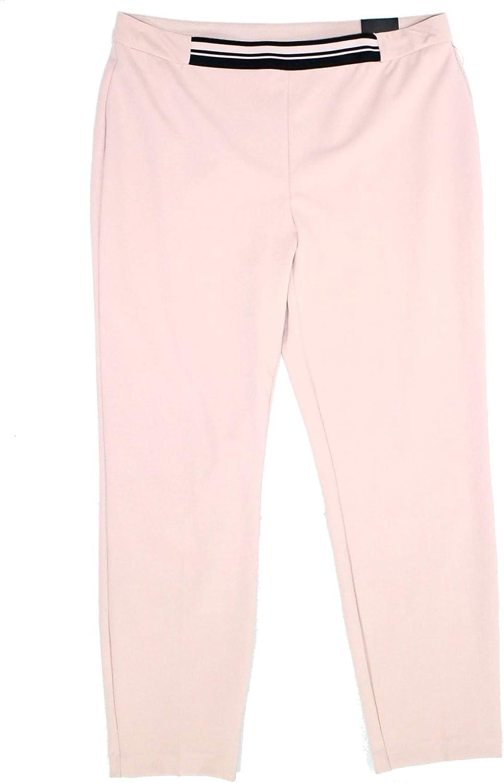 Alfani Womens Pink Straight Leg Pants Size 6