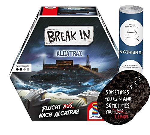 Break In - Set Alcatraz + 4 adesivi Exit + 1 poster ottico