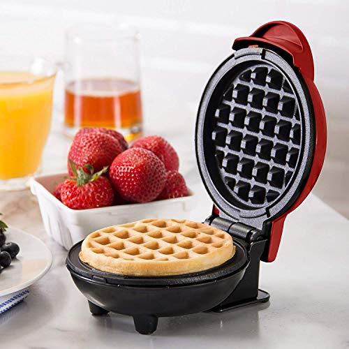 Elektrische Wafel Maker, Omelette Maker, Pannenkoek Maker, Mini Wafelmachine voor...