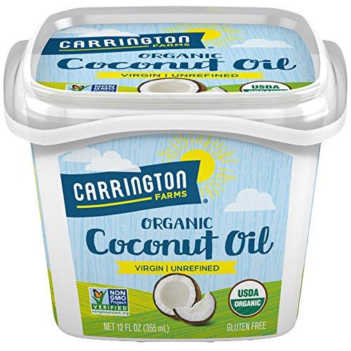 Carrington Farms Organic Virgin Coconut Oil, 12 Fl Oz