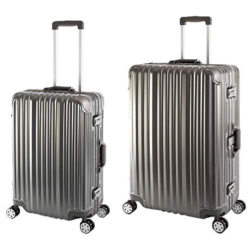 Sale% Travelhouse T1169 Hardschalige koffer met aluminium frame Londen T1169, reistrolley, verschillende maten en kleuren