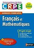 Annales CRPE Français et Mathématiques 2020