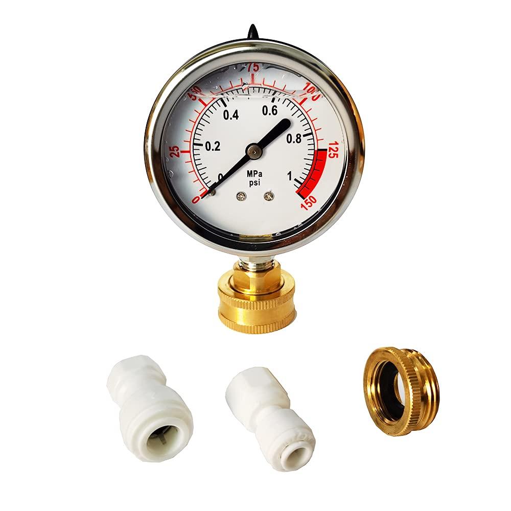 Malida Industrial Water Oil Gas Gauge Liquid Regular dealer Manufacturer direct delivery Kit Pressure Filled