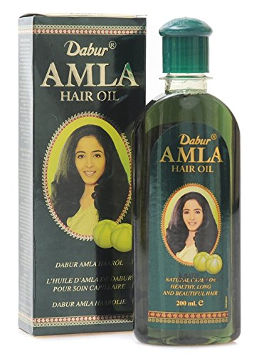 2x Dabur Amla Hair Oil 200 ml - indische Haarpflege Ayurveda