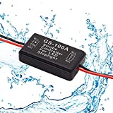 smseace 1PCS 100A Strobe Controller for LED Stoplight 12-24V Good waterproof and dust proof Flashing Strobe Blinking Controller Flasher Module GS-100A-1PCS