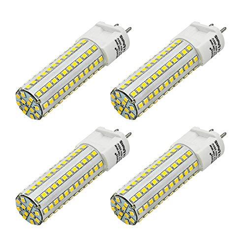 MENGS 4 Stück G12 LED Kaltweiss Lampen 10W 800 Lumen LED Leuchtmittel 6000 Kelvin Kaltweiß, Ersatz 80W Halogenlampen 360 ° Abstrahlwinkel LED-Maislicht, CRI>80, AC 85-265V