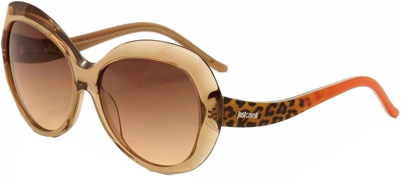 Just Cavalli Jc633s27F56 Women's Butterfly Translucent Peach Sunglasses